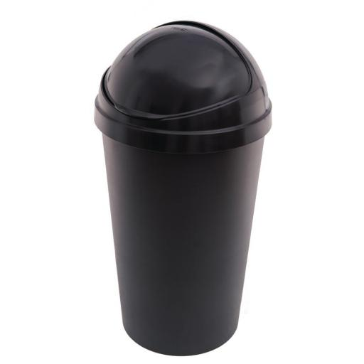 Papelera de plástico Bullet 50L. Curver L551