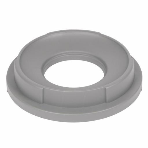 Tapa con orificio para cubo de basura 80L Jantex L679