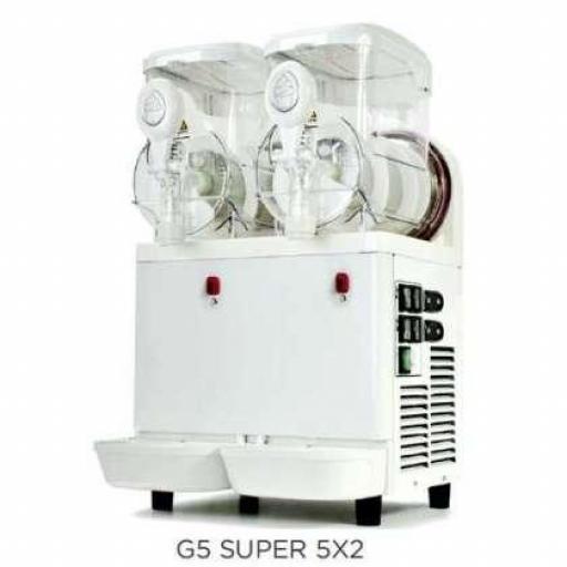 Máquina de preparación de crema de helado de doble depósito Carpigiani G5 Super 5X2