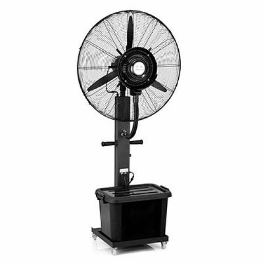 Ventilador con nebulizador de agua de 42L. para terrazas Hobeto 129762