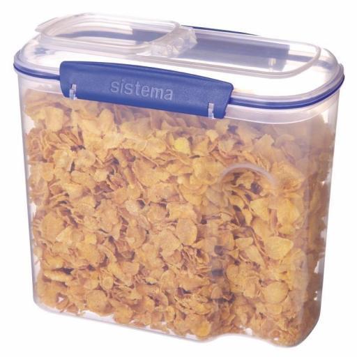 Contenedor para cereales 2,8L. Sistema Klip it S513