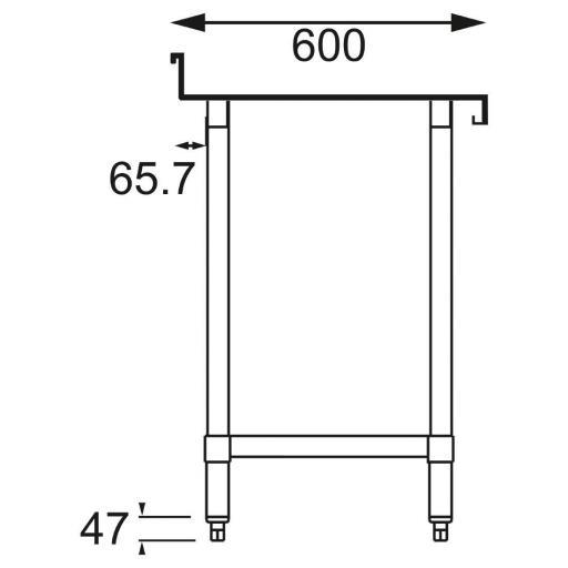 mesa de acero inoxidable [1]