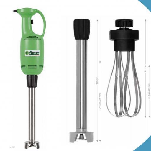 Triturador-batidor Fimar MX40