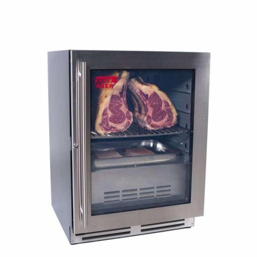 Armario de maduración de carne con puerta de cristal Línea Pekín CHM46C