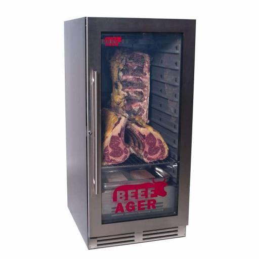 Armario de maduración de carne con puerta de cristal Línea Pekín CHM120C