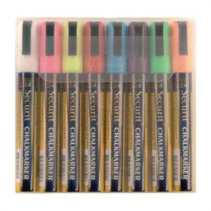 Juego de 8 rotuladores limpiables Illumigraph Securit Y999
