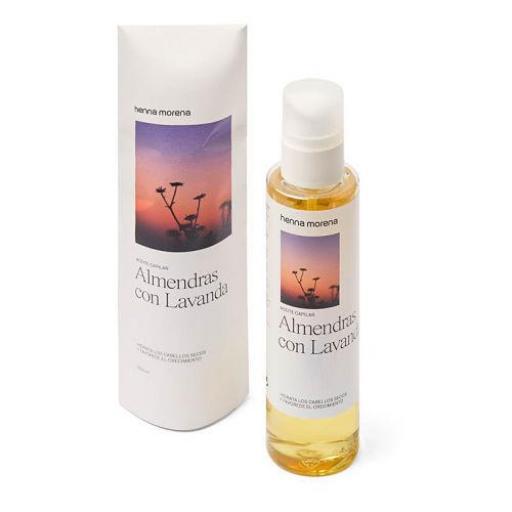 Aceite de Almendras con Lavanda Henna Morena