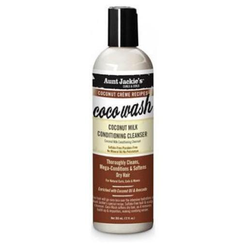 Coco Wash Conditioning Cleanser Aunt Jackie's