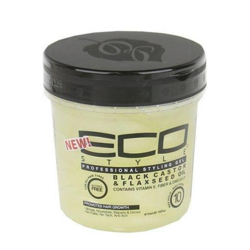 Eco Styler Black Castor & Flaxeed Oil Styling Gel