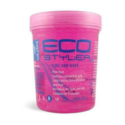 Gel Curl & Wave Firm Hold Eco Styler [2]