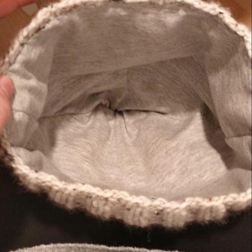 Gorro lana con forro especial curly  [1]