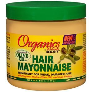 Organics Africas Best Hair Mayonnaise Treatment