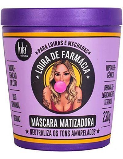 Mascarilla Matizadora Loira de Farmacia Lola Cosmetics