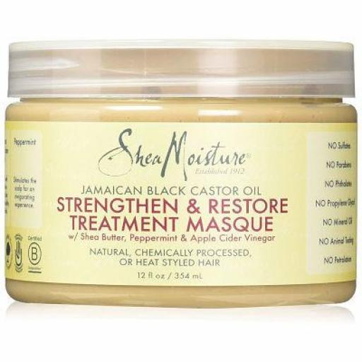 Shea Moisture Jamaican Black Castor Oil Treatment Masque