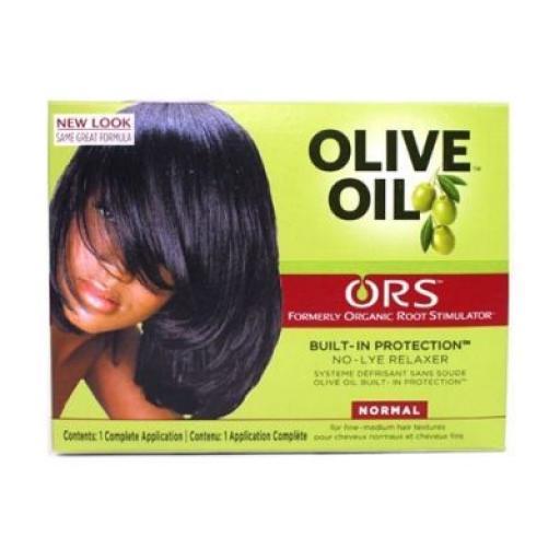 Organic Root Stimulator Olive Oil No Lye Relaxer [1]