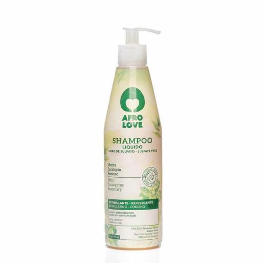 Champú Menta  290 ml. Afro Love