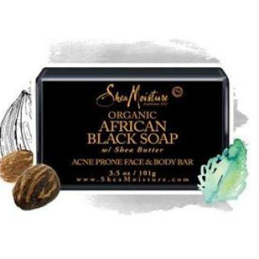 Jabón African Black Soap Shea Moisture