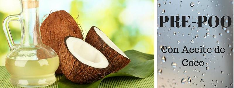 Pre-Poo de Aceite de Coco