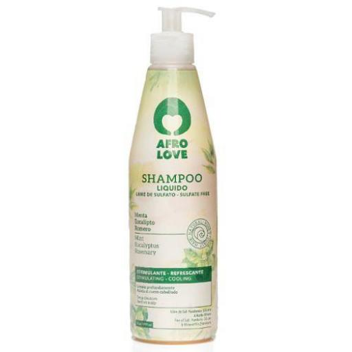 Champú Menta  450 ml. Afro Love