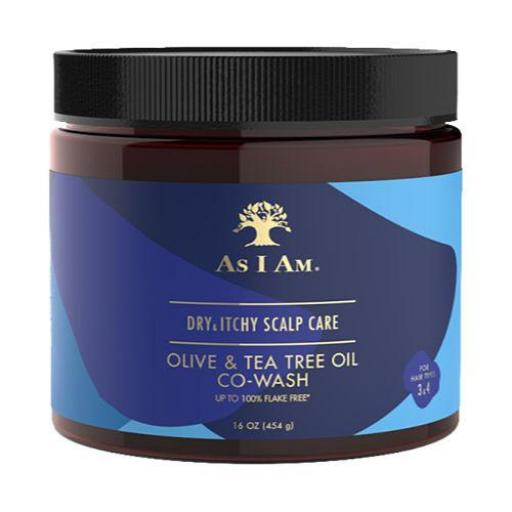 Co-Wash Oliva & Tea Tree As I Am [0]