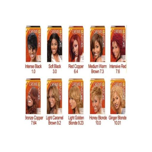 Tintes Exotic Shine Color (10 Colores) Creme Of Nature [1]