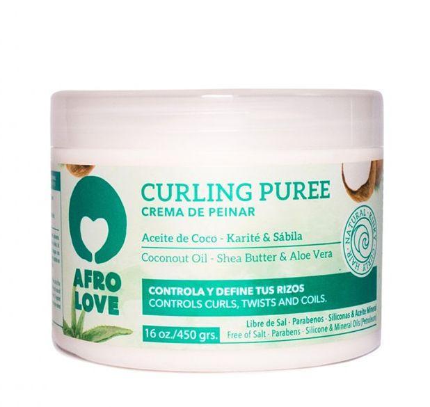 Crema Curling Puree 450 gr. Afro Love