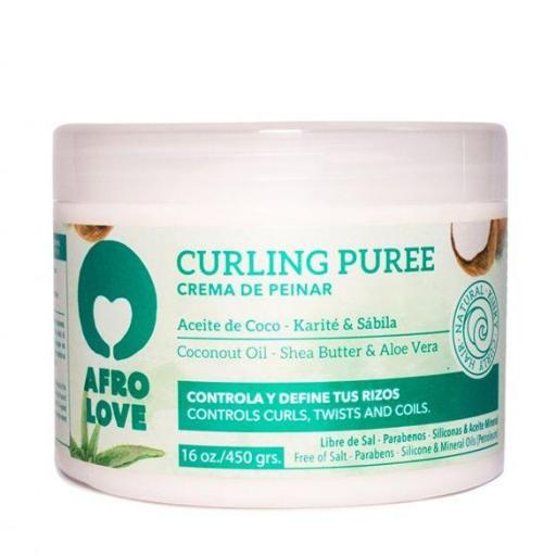 Crema Curling Puree 450 gr. Afro Love