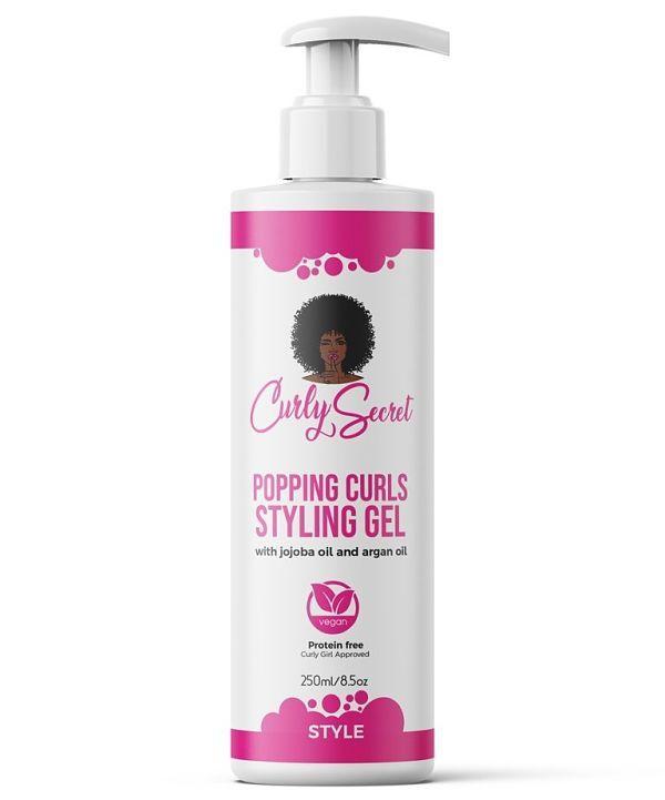 Gel Popping Curls Curly Secret