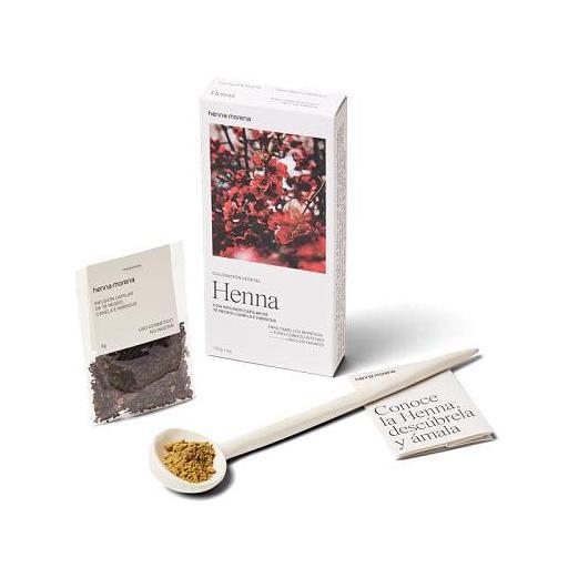 Henna Té Negro, Canela e Hibiscus Henna Morena [1]