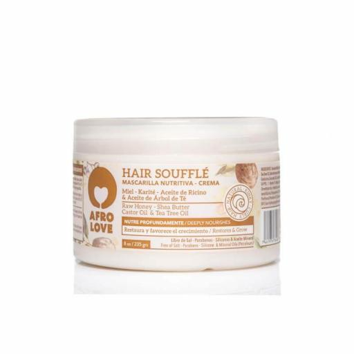 Mascarilla Hair Soufflé 235 gr. Afro Love