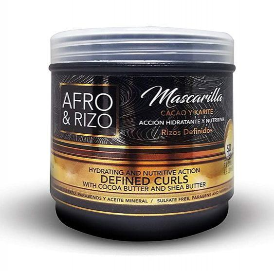 Mascarilla Afro & Rizo