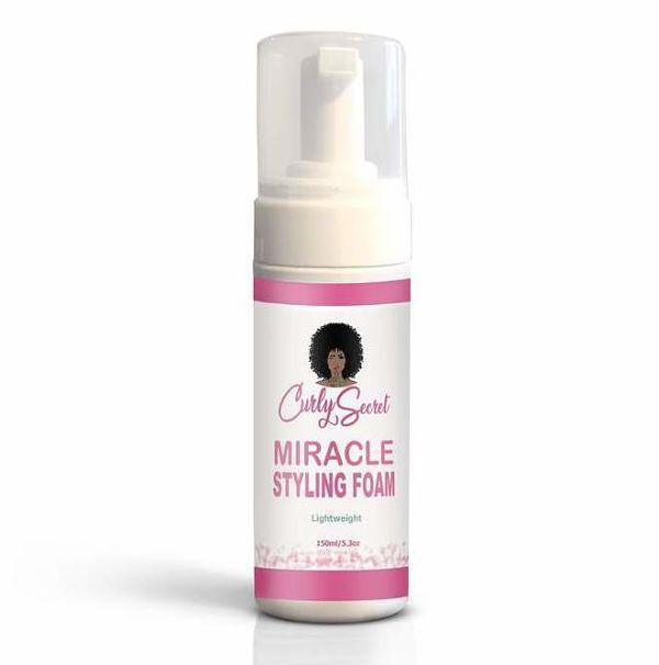 Miracle Curl Foam Curly Secret