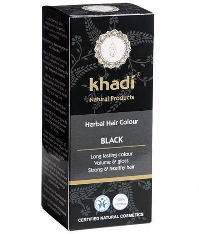 Tinte Natural con Henna  Negro BIO KHADI