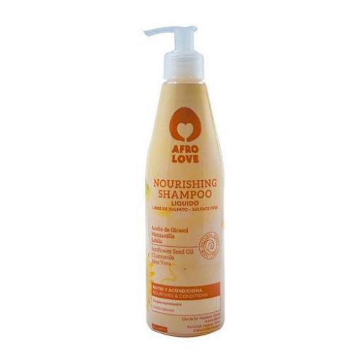 Champú Hidratante 290 ml. Afro Love