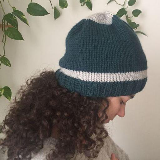 Gorro lana con forro especial curly  [2]