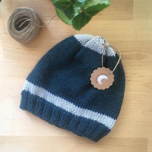 Gorro lana con forro especial curly