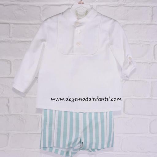 Camisa + Pantalón cortito pequeños