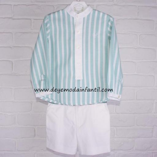 Camisa + Jersey + Bermuda + Cinto