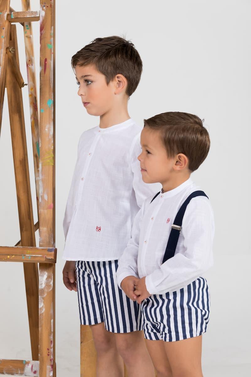 Conjunto niño con tirantes familia Monet