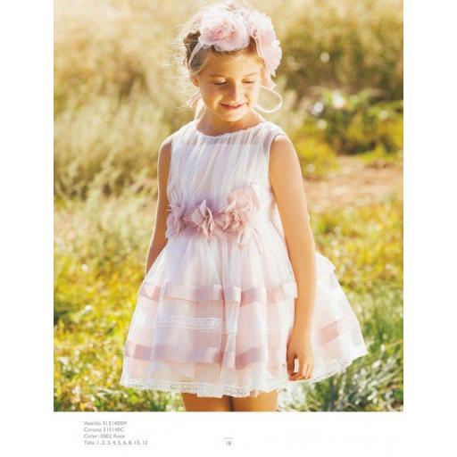 Vestido Amaya rosa [0]