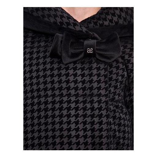 Parka-abrigo negra acolchada reversible [2]