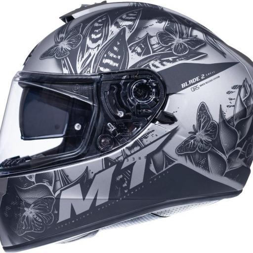 CASCO INTEGRAL BLADE 2 SV BREEZE E2 MATT GREY