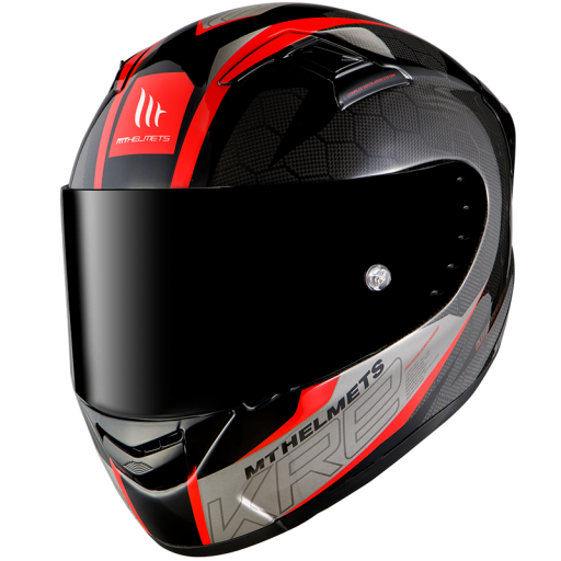CASCO INTEGRAL KRE SNAKE CARBON 2.0 A5 GLOSS RED [0]