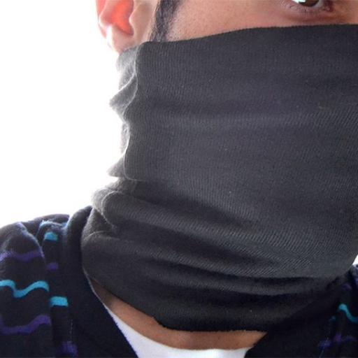 Protector de cuello algodo?n. Negro [1]