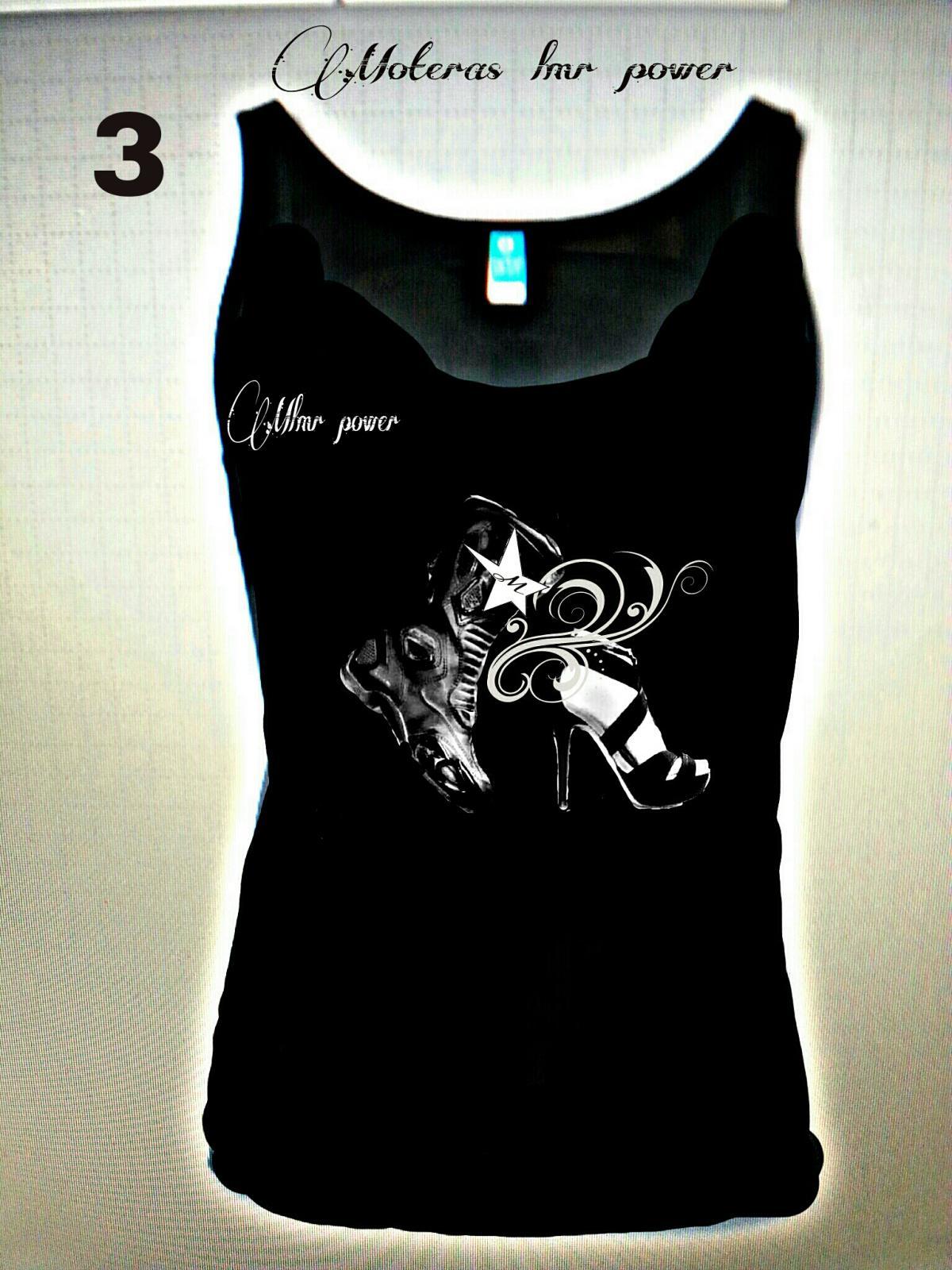 Camiseta Moter@s , MODELO 3  bota