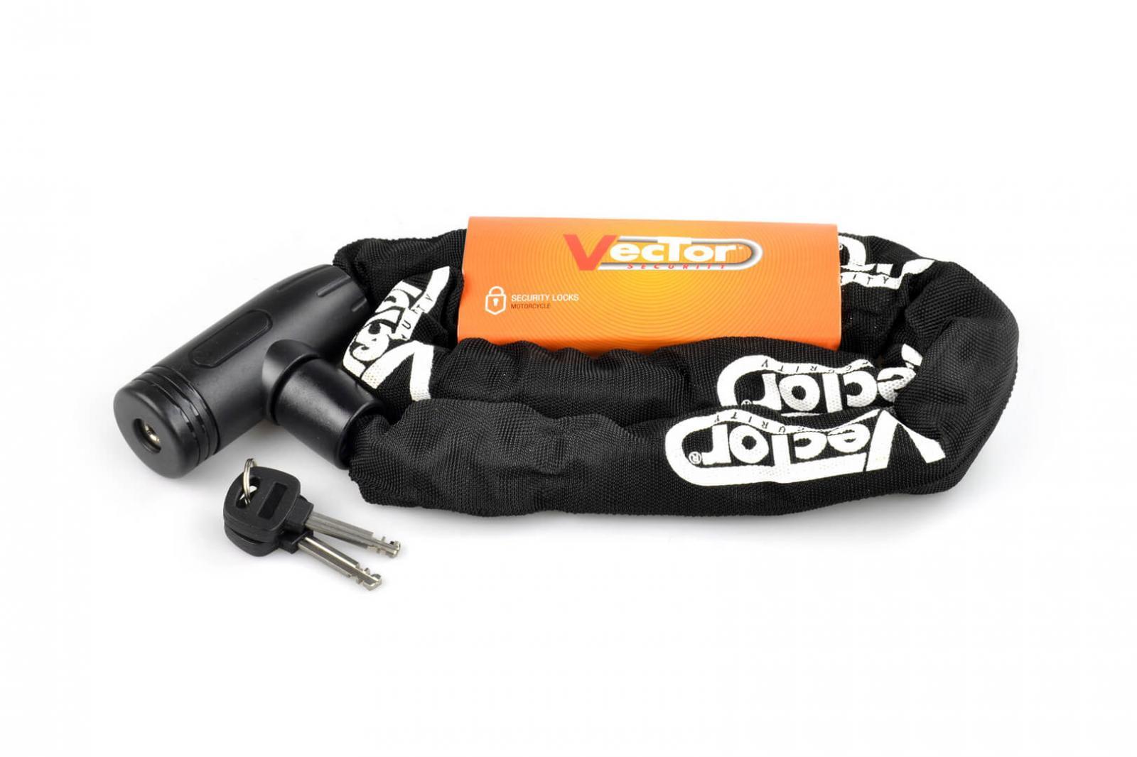 Candado cadena Vector 1200 mm 8x8mm