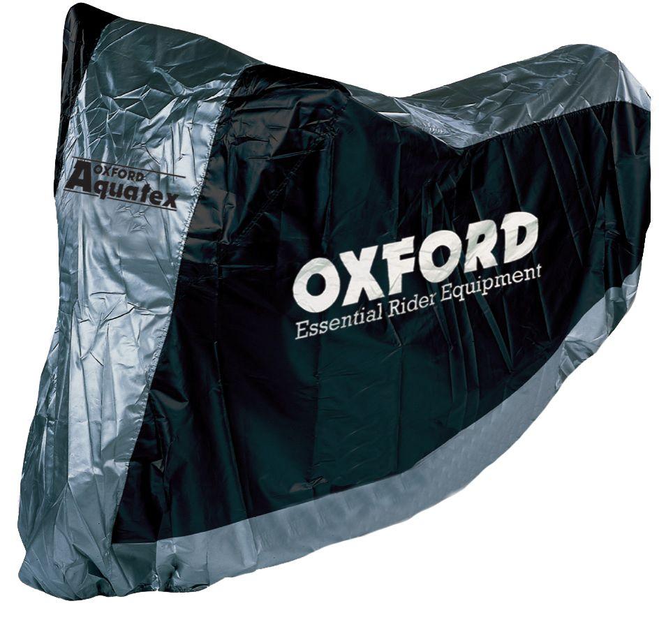 Funda cubre moto universal para motocicletas con guarda cascos T. XL (277cm) Oxford CV118