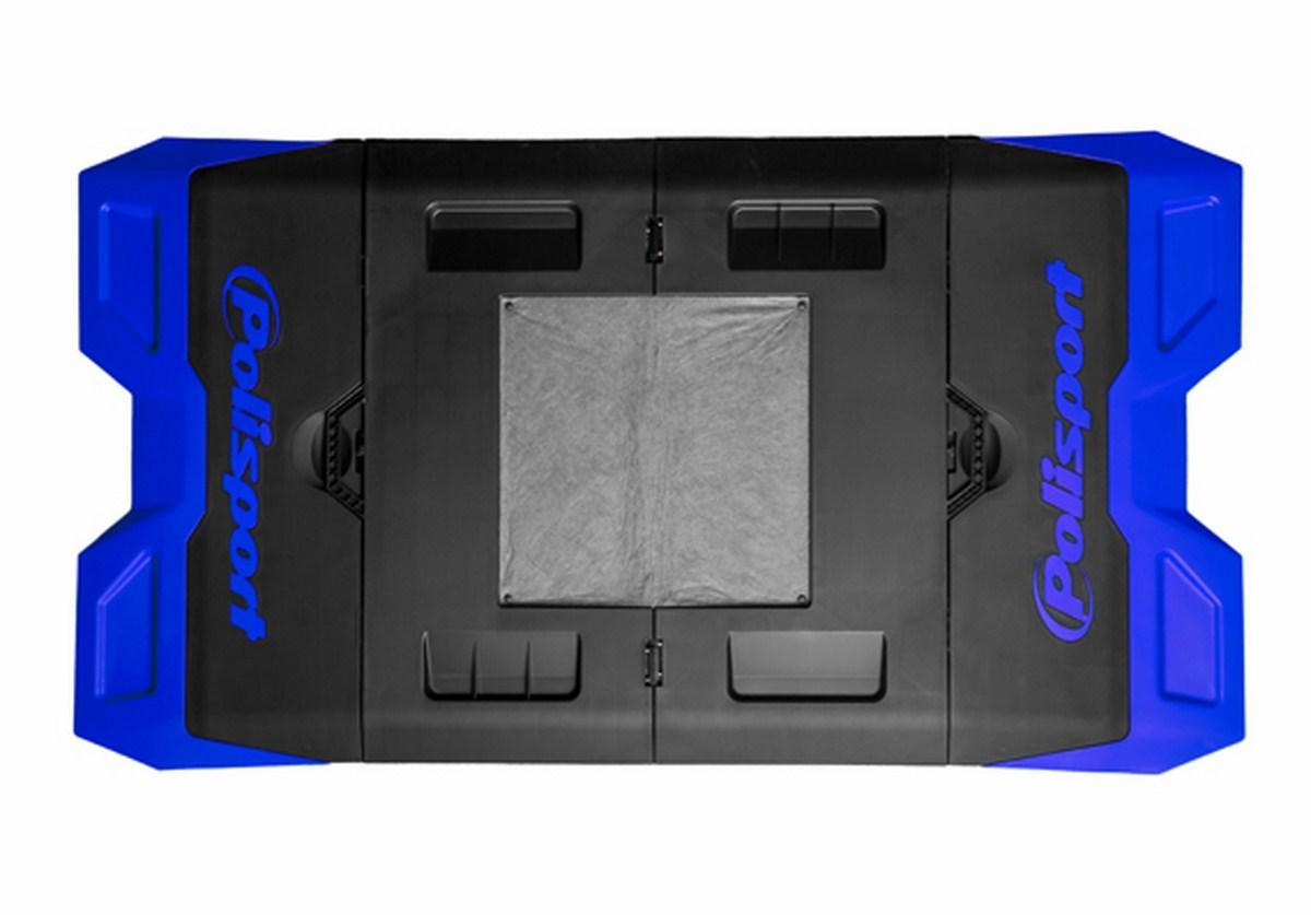 Alfombra plastica de box Polisport Azul o Roja