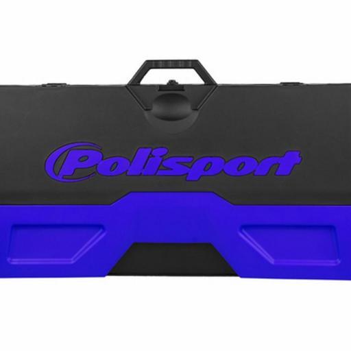 Alfombra plastica de box Polisport Azul o Roja [2]