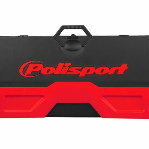 Alfombra plastica de box Polisport Azul o Roja [3]